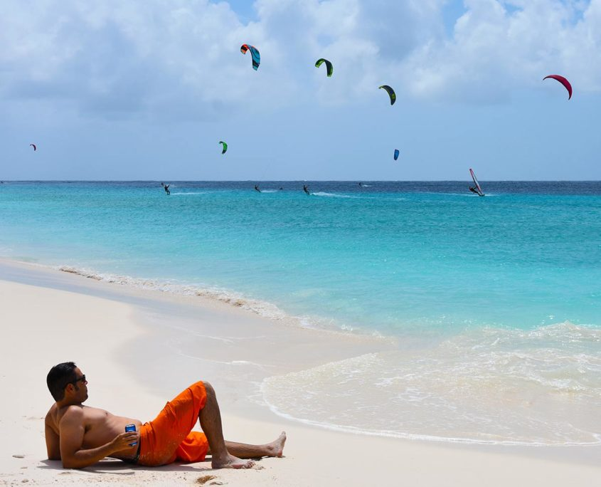 klein curacao kite surf trips